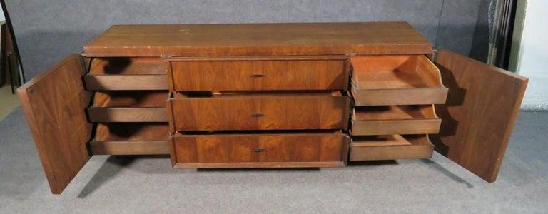 20th Century Mid-Century Brutalist Dresser For Sale