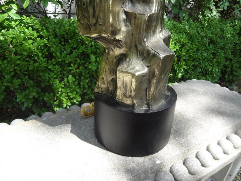 Midcentury Brutalist Lamp by Richard Barr for Laurel Lamp Company 2
