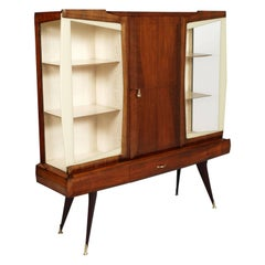 Midcentury Cabinet Bar Unmistakably Vittorio Dassi Designer Made in Milan