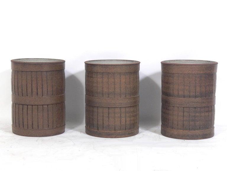 Mid-Century Modern Midcentury California Ceramic Planters For Sale