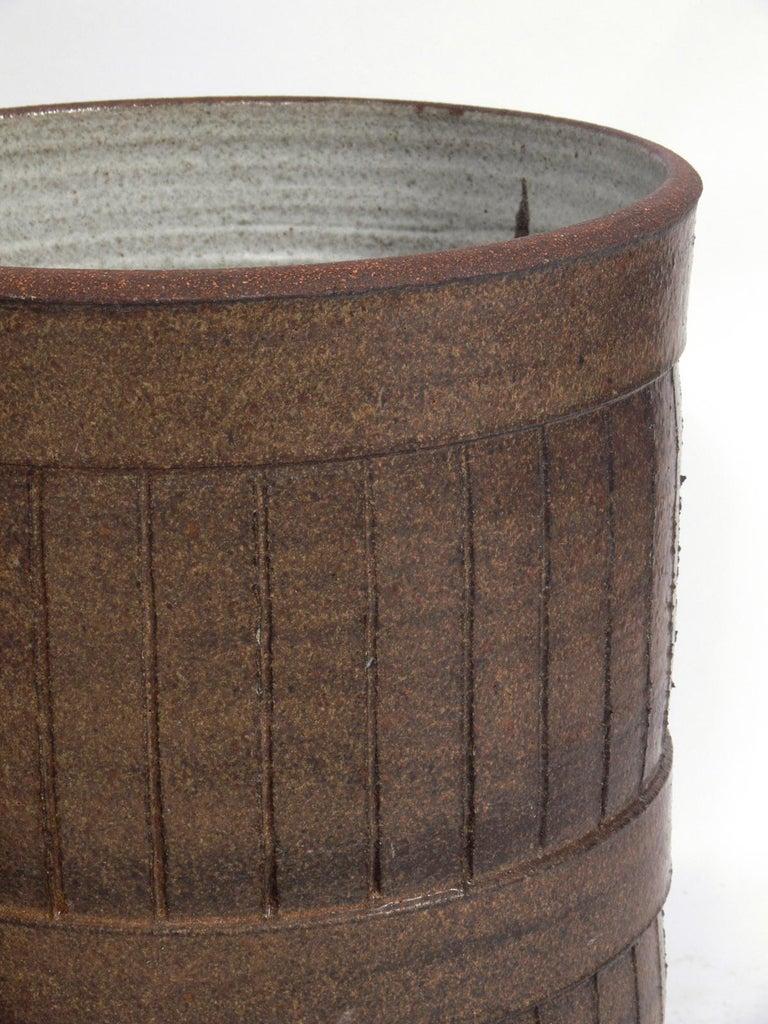 American Midcentury California Ceramic Planters For Sale