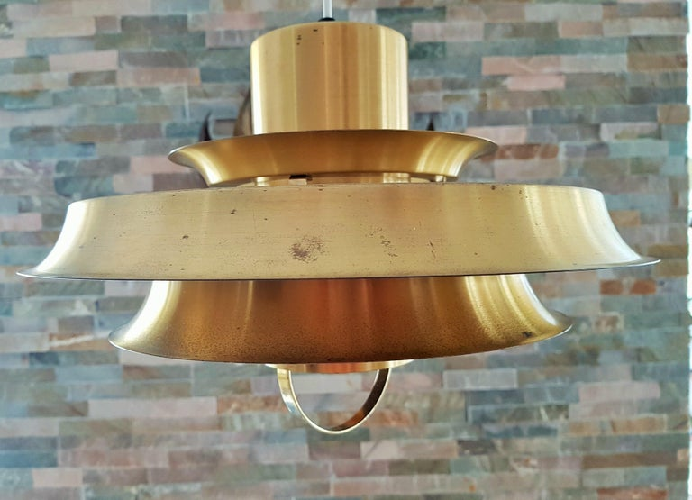 Midcentury Carl Thore Pendant Chandelier Danish Modern For Sale 5
