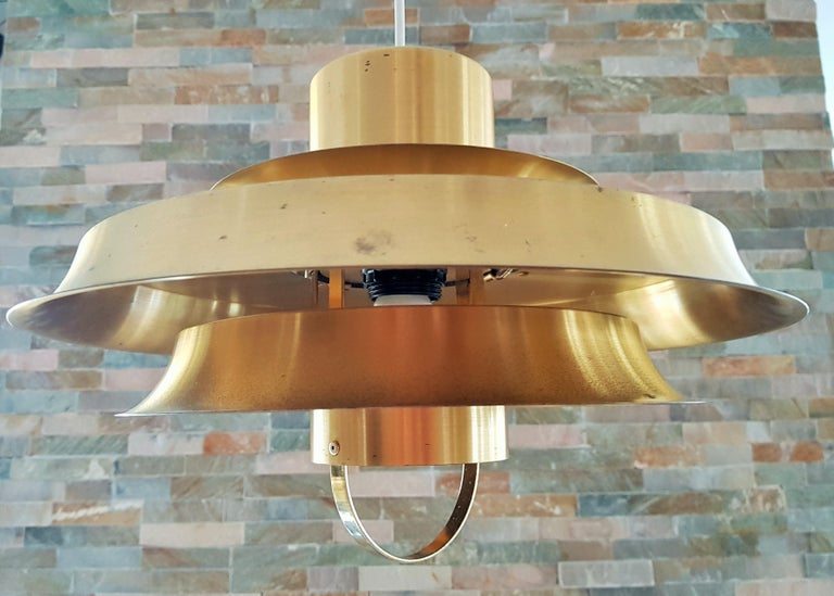 Midcentury Carl Thore Pendant Chandelier Danish Modern For Sale 6