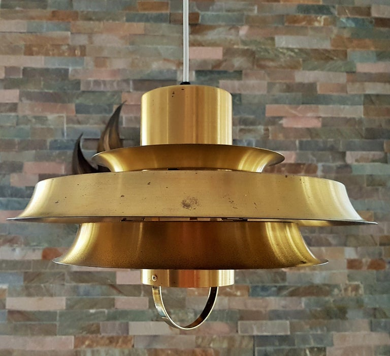Midcentury Carl Thore Pendant Chandelier Danish Modern For Sale 9