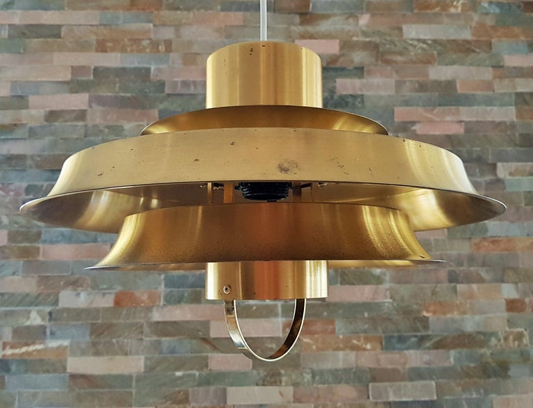 Midcentury Carl Thore Pendant Chandelier Danish Modern For Sale 10
