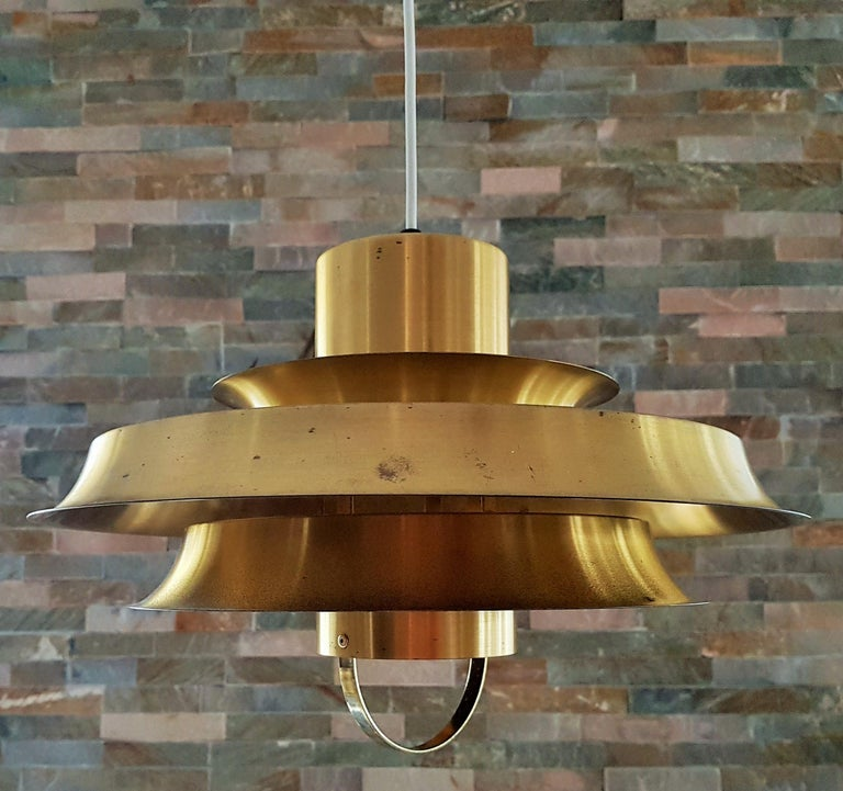 Midcentury Carl Thore Pendant Chandelier Danish Modern For Sale 11