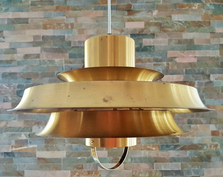 Midcentury Carl Thore Pendant Chandelier Danish Modern For Sale 12