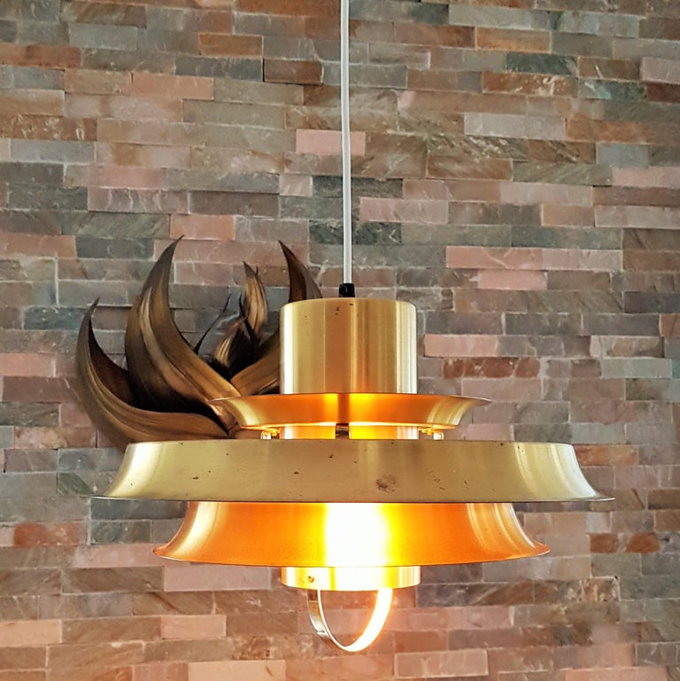 Mid-Century Modern Midcentury Carl Thore Pendant Chandelier Danish Modern For Sale