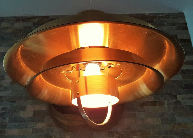 Midcentury Carl Thore Pendant Chandelier Danish Modern For Sale 1