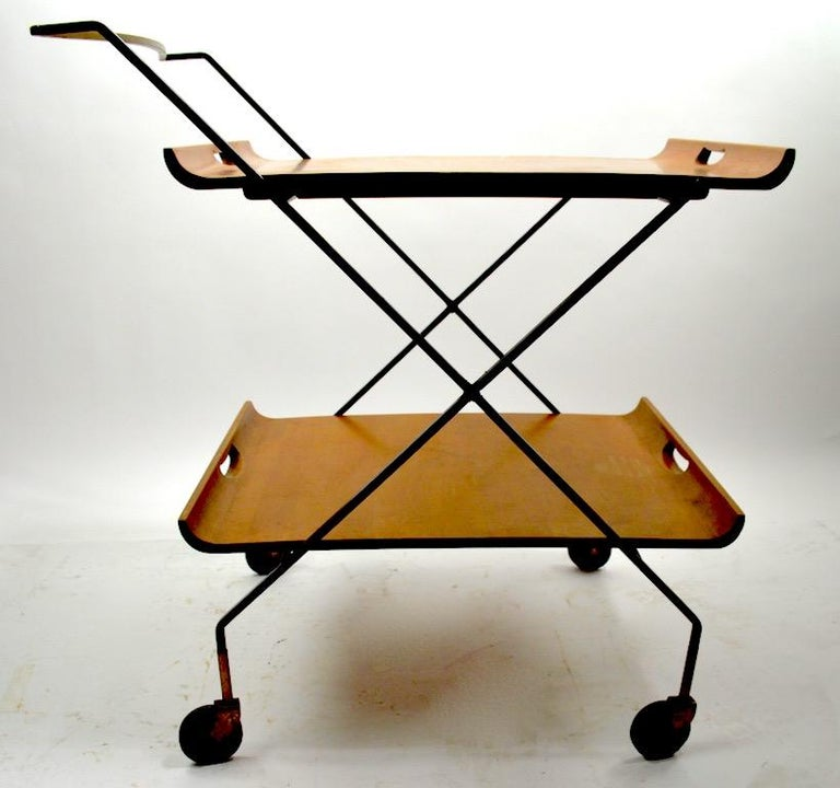 Mid Century Cart by Baughman for Murrey Furniture For Sale 1