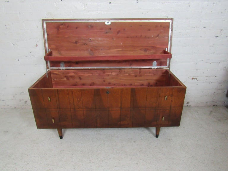 Mid-20th Century Midcentury Cedar Trunk by Lane For Sale