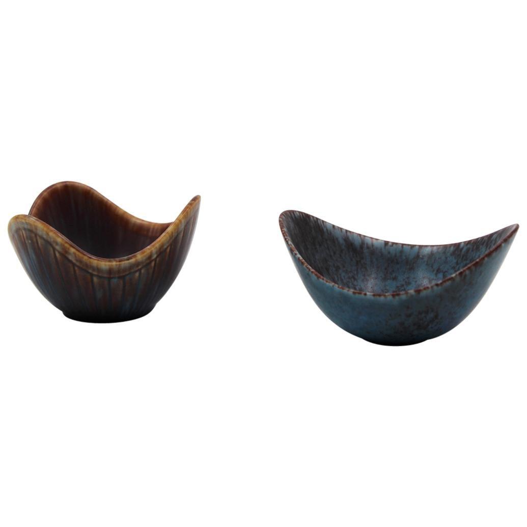 Midcentury Ceramic Bowl by Gunnar Nylund 'Set of 2', 1950s