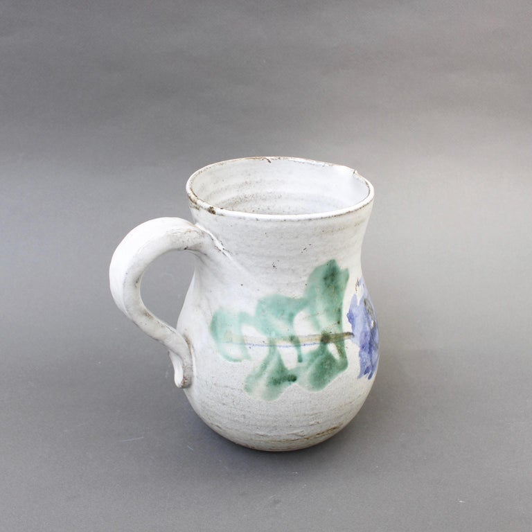 Midcentury Ceramic Pitcher by Albert Thiry, 'circa 1960s' For Sale 3