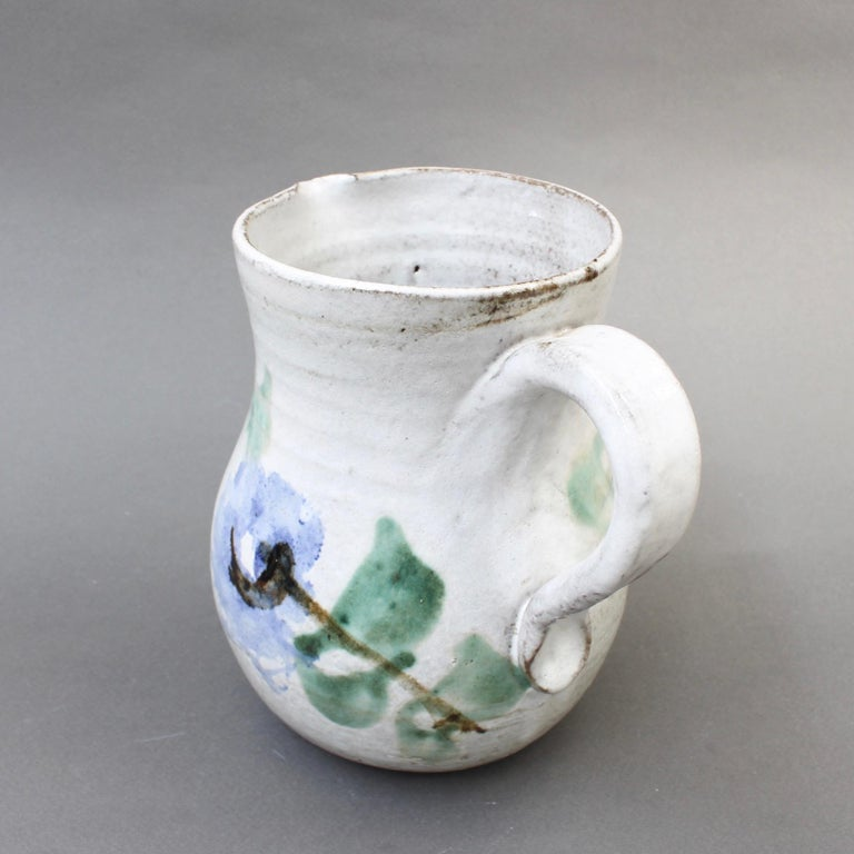 Midcentury Ceramic Pitcher by Albert Thiry, 'circa 1960s' For Sale 4