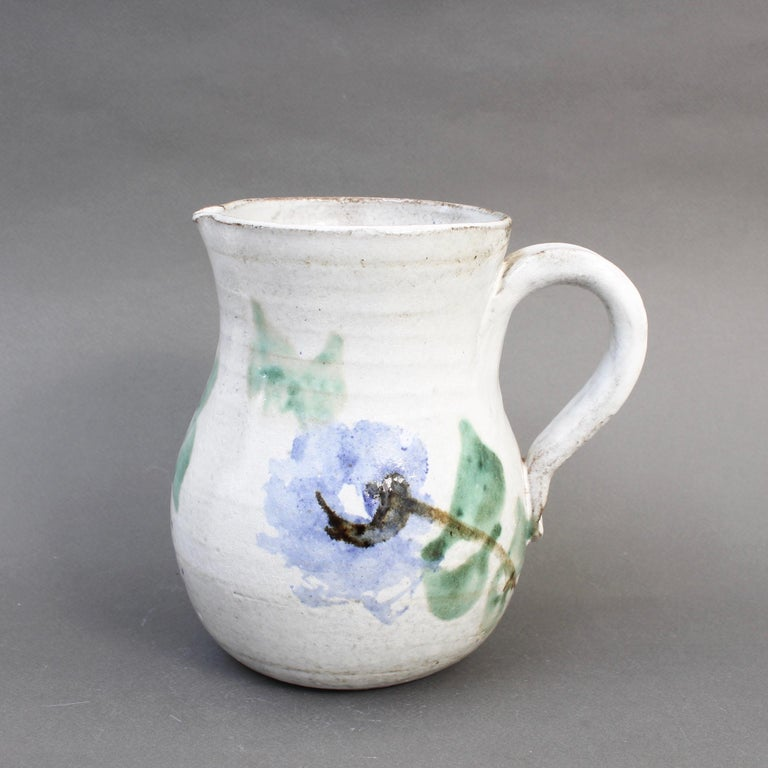 French Midcentury Ceramic Pitcher by Albert Thiry, 'circa 1960s' For Sale