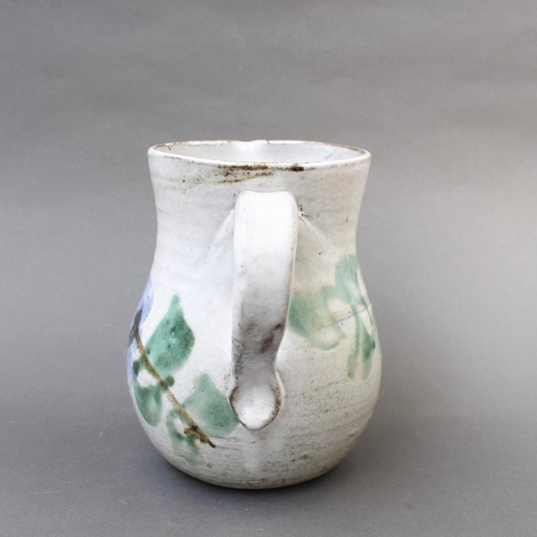Midcentury Ceramic Pitcher by Albert Thiry, 'circa 1960s' In Good Condition For Sale In London, GB