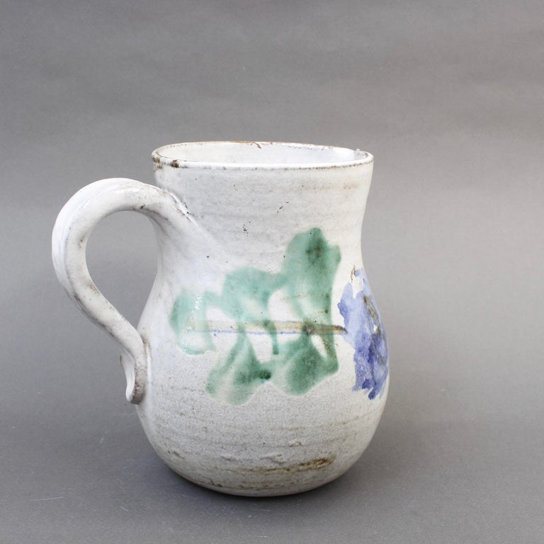 Mid-20th Century Midcentury Ceramic Pitcher by Albert Thiry, 'circa 1960s' For Sale