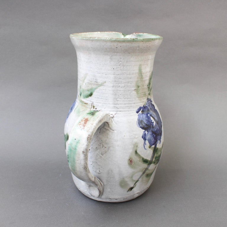 Mid-20th Century Midcentury Ceramic Pitcher by Albert Thiry, circa 1960s For Sale