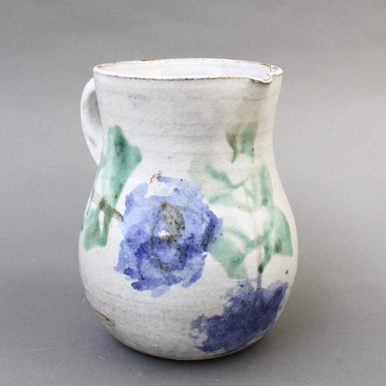 Midcentury Ceramic Pitcher by Albert Thiry, 'circa 1960s' For Sale 1