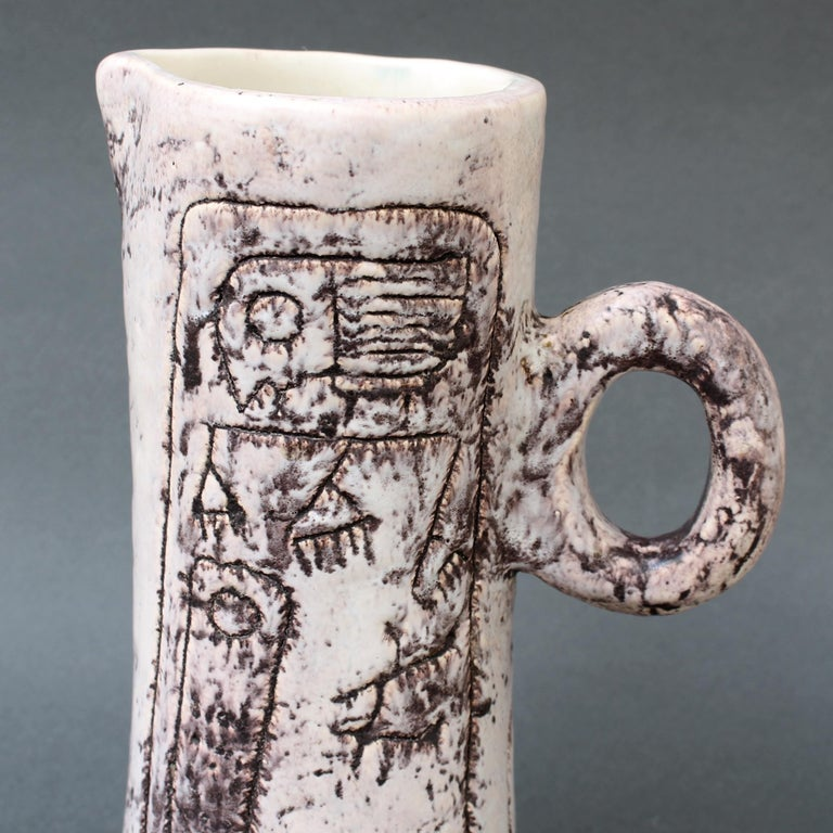 Midcentury Ceramic Pitcher by Jacques Blin, 'circa 1950s' For Sale 6