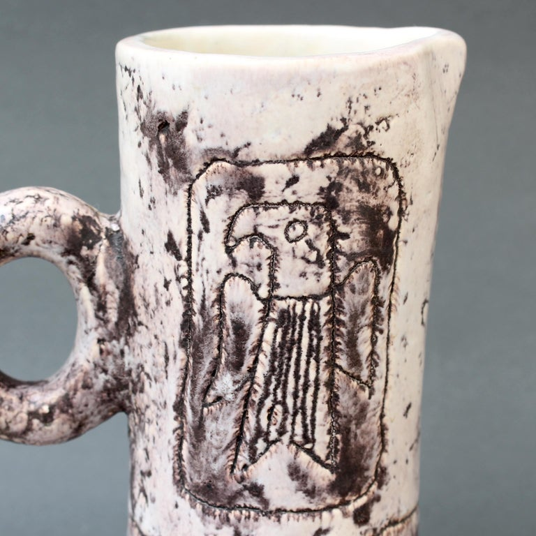 Midcentury Ceramic Pitcher by Jacques Blin, 'circa 1950s' For Sale 7