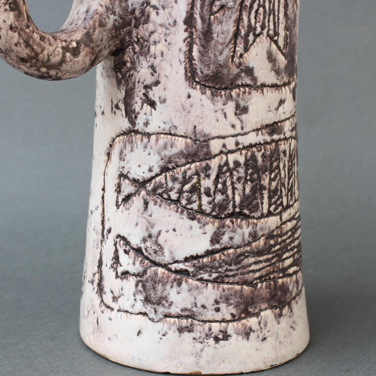 Midcentury Ceramic Pitcher by Jacques Blin, 'circa 1950s' For Sale 9
