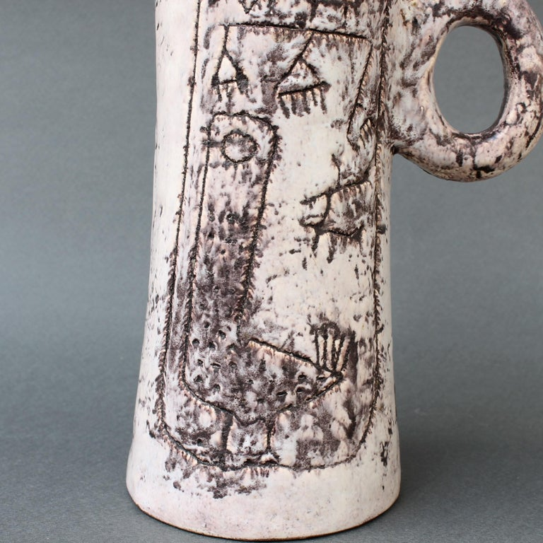 Midcentury Ceramic Pitcher by Jacques Blin, 'circa 1950s' For Sale 10