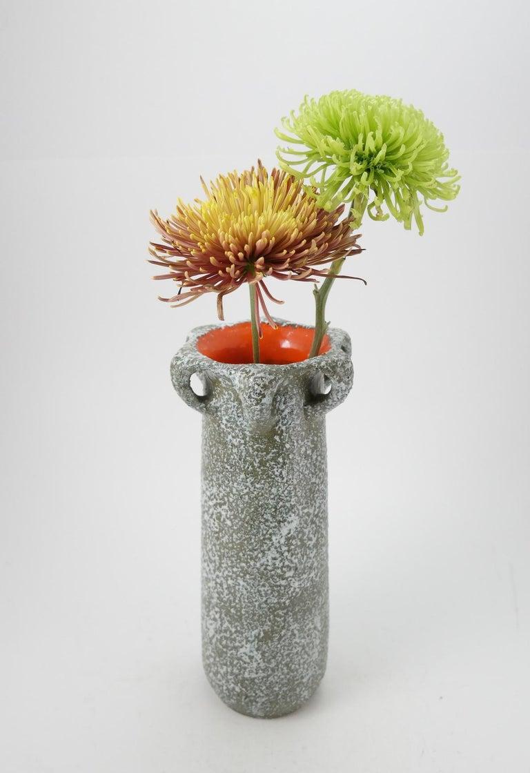 Midcentury ceramic vase 1960s.