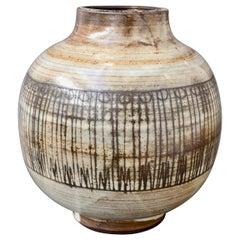 Mid-Century Ceramic Vase by Jacques Pouchain / Atelier Dieulefit, circa 1960s