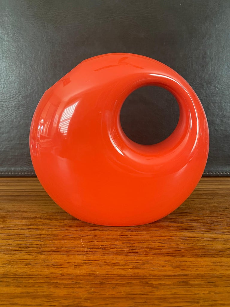 Mid-Century Modern Midcentury Ceramic Vase by Les Heritiers for Roche Bobois For Sale