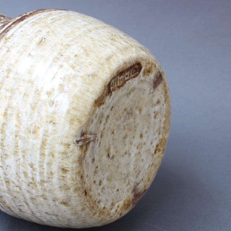 Midcentury Ceramic Vase by Marcel Giraud, circa 1960s For Sale 3