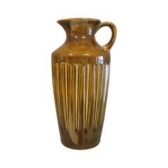Midcentury Ceramic vase/ jug by Bay West Germany, 1960