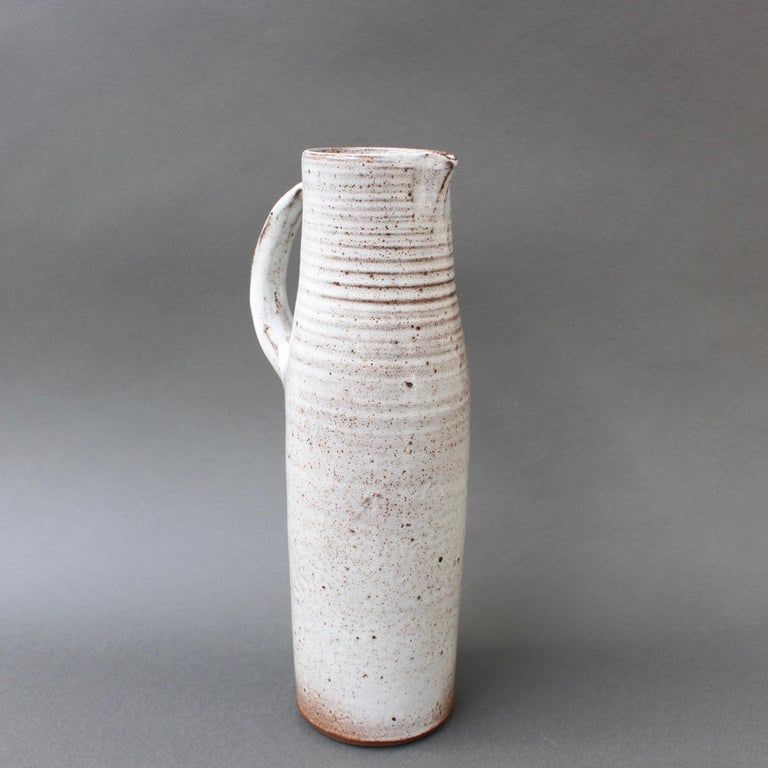 French Midcentury Ceramic Vase / Jug by Jeanne & Norbert Pierlot, circa 1960s For Sale