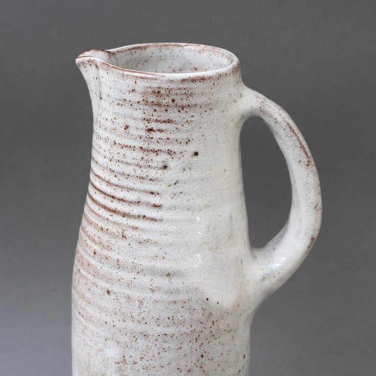 Midcentury Ceramic Vase / Jug by Jeanne & Norbert Pierlot, circa 1960s For Sale 1
