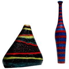 Mid-Century Ceramic Vases by Guido Gambone