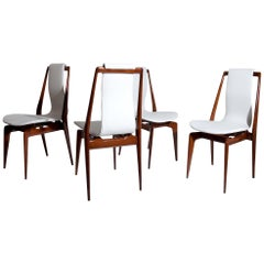 Midcentury Chairs Attributed to Dassi, Italy 1950s