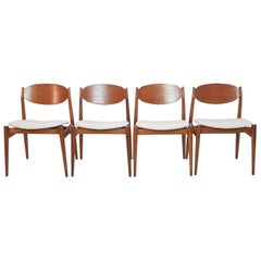 Midcentury Chairs by Leonardo Fiori for ISA Bergamo