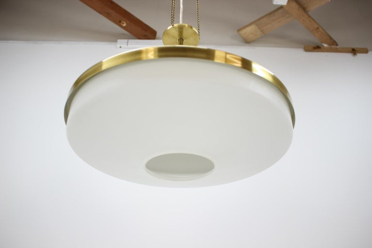 Mid-Century Modern Midcentury Chandelier by Napako, 1970s For Sale