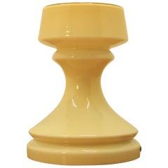 Mid Century Chess Figure Lamp, Tower, Ivan Jakes, 1970s