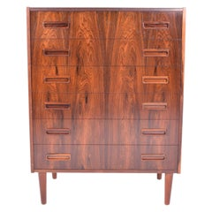 Midcentury Chest of Drawers by Borge Seindal for P. Westergaard Mobelfabrik