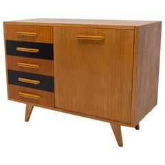 Midcentury Chest of Drawers, Czechoslovakia, 1960s