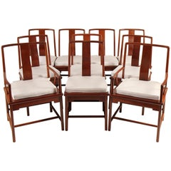Midcentury Chinese Rosewood Dining Chairs