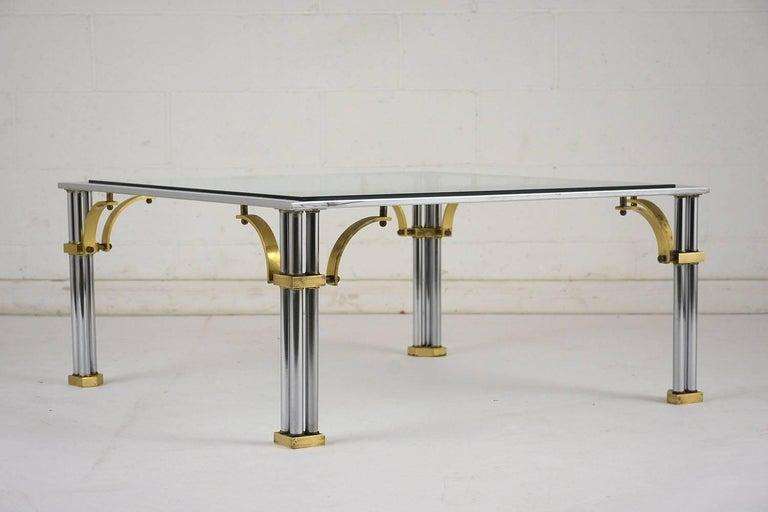 Mid-Century Modern Mid-century Modern Jansen Style Coffee Table For Sale