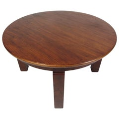 Mid-Century Circular Coffee Table