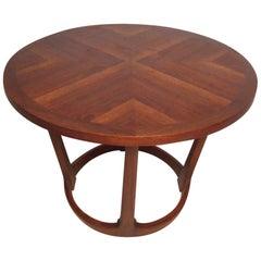 Midcentury Circular Side Table by Lane Furniture