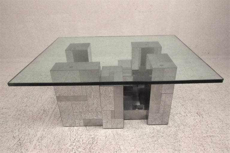 Mid-Century Modern Midcentury Cityscape Coffee Table by Paul Evans for Directional For Sale