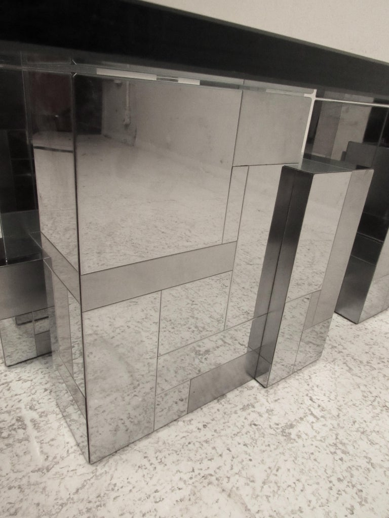 Late 20th Century Midcentury Cityscape Coffee Table by Paul Evans for Directional For Sale