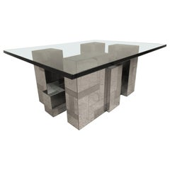 Midcentury Cityscape Coffee Table by Paul Evans for Directional