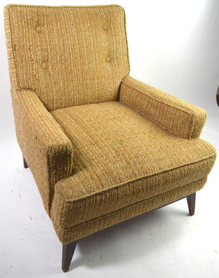 Mid Century  Club Lounge Chair after McCobb as is For Sale 3