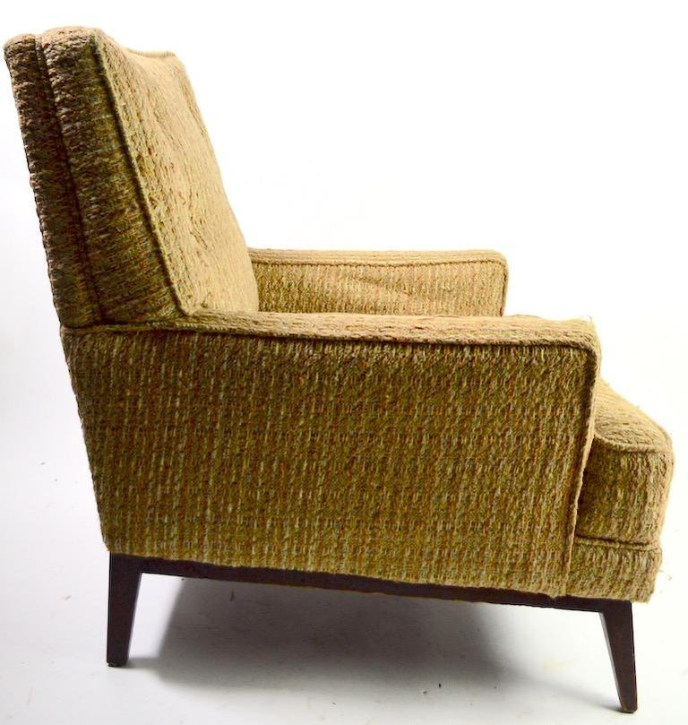 Mid-Century Modern Mid Century  Club Lounge Chair after McCobb as is For Sale